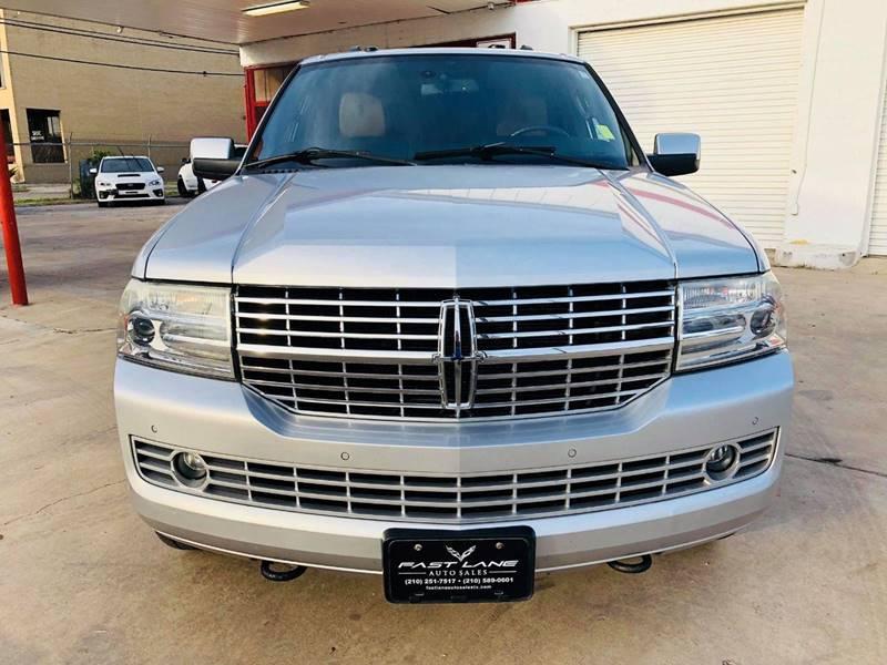 2011 Lincoln Navigator L for sale at FAST LANE AUTO SALES in San Antonio TX