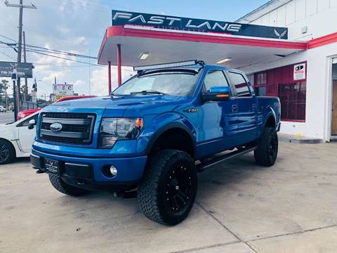 2013 Ford F-150 for sale at FAST LANE AUTO SALES in San Antonio TX