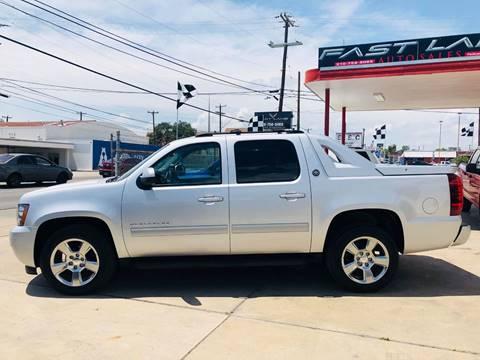 2013 Chevrolet Black Diamond Avalanche for sale at FAST LANE AUTO SALES in San Antonio TX