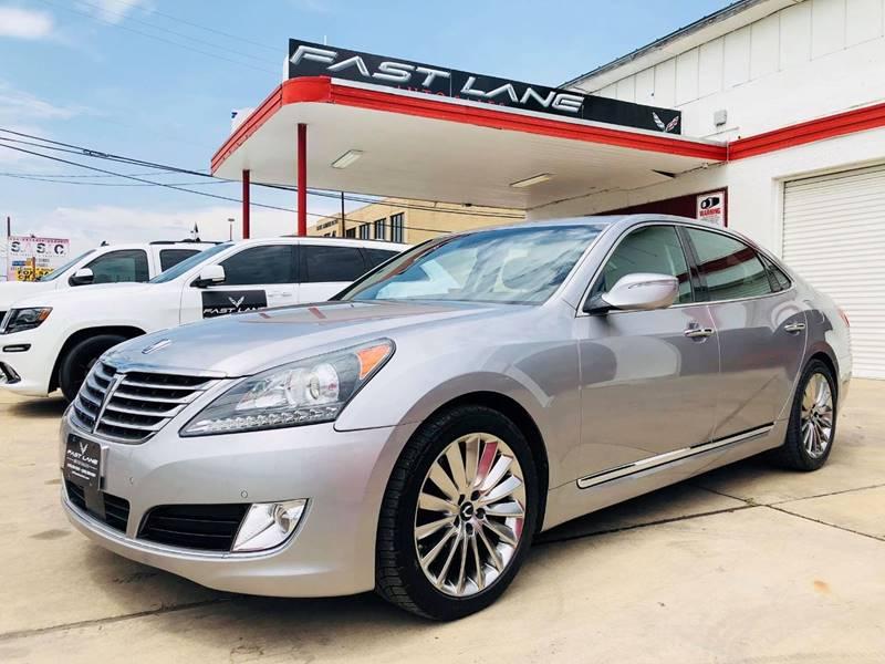 2014 Hyundai Equus for sale at FAST LANE AUTO SALES in San Antonio TX