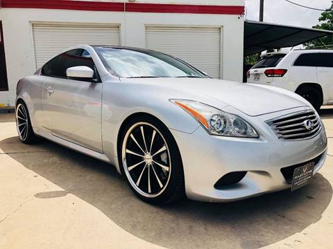 2008 Infiniti G37 for sale at FAST LANE AUTO SALES in San Antonio TX