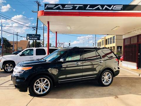 2013 Ford Explorer for sale at FAST LANE AUTO SALES in San Antonio TX