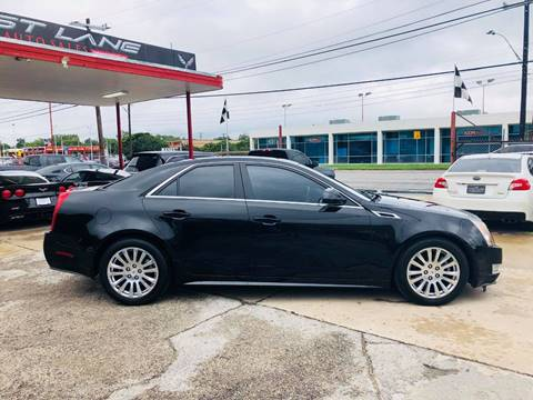 2011 Cadillac CTS for sale at FAST LANE AUTO SALES in San Antonio TX