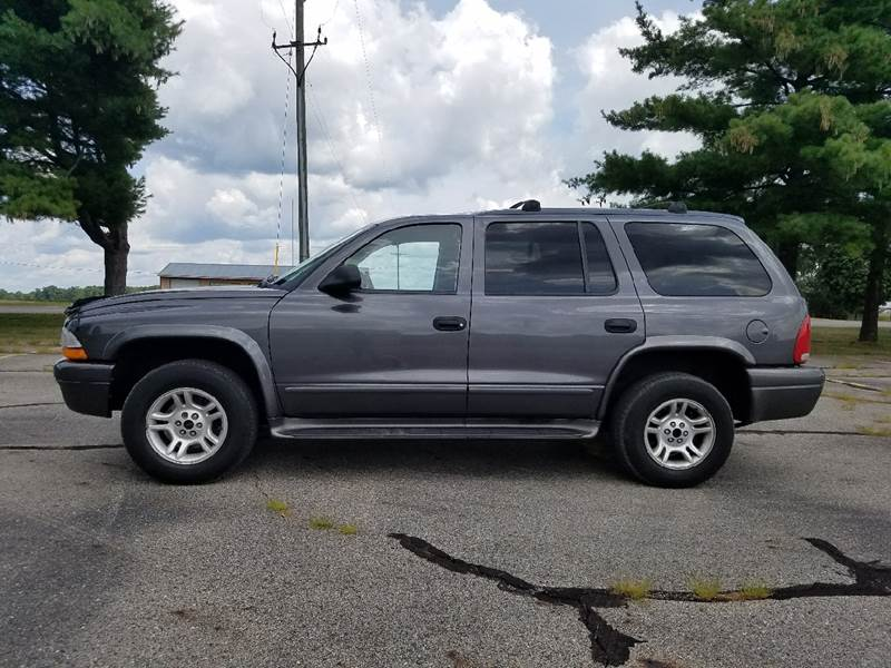 2003 Dodge Durango for sale at B & T Car Sales LLC in Sand Lake MI