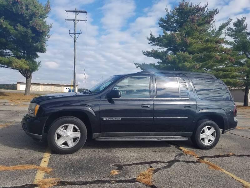 2003 Chevrolet TrailBlazer for sale at B & T Car Sales LLC in Sand Lake MI