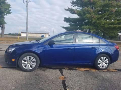 2012 Chevrolet Cruze for sale at B & T Car Sales LLC in Sand Lake MI