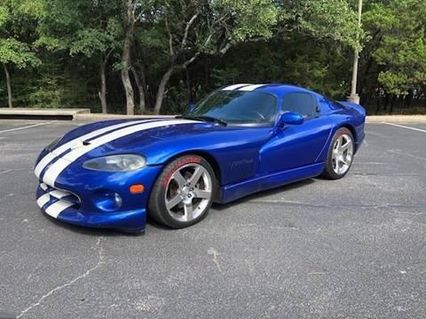 Viper Gts For Sale >> 1996 Dodge Viper For Sale In Austin Tx