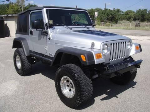 Jeep Wrangler For Sale Austin >> 2005 Jeep Wrangler For Sale In Austin Tx