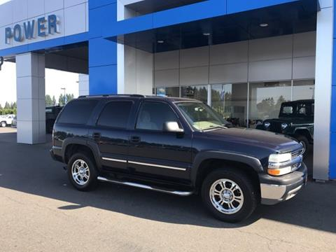 2004 Chevrolet Tahoe for sale in Salem, OR