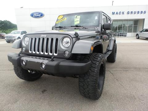 2017 Jeep Wrangler Unlimited for sale in Columbia, MS