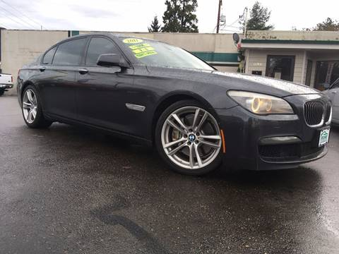 2011 BMW 7 Series for sale at Salem Auto Market in Salem OR
