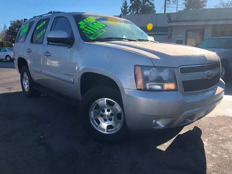 2007 Chevrolet Tahoe for sale at Salem Auto Market in Salem OR