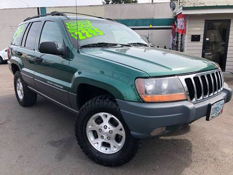 1999 Jeep Grand Cherokee for sale at Salem Auto Market in Salem OR