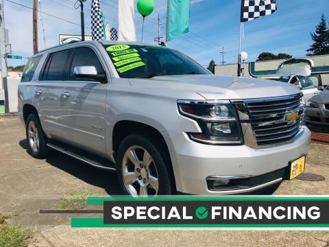 2015 Chevrolet Tahoe for sale at Salem Auto Market in Salem OR