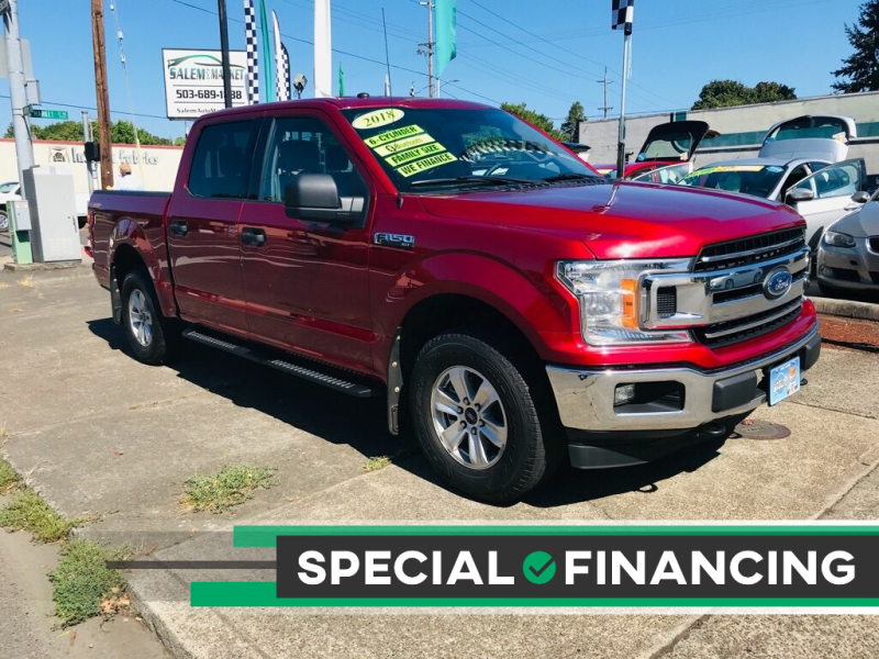 2018 Ford F-150 for sale at Salem Auto Market in Salem OR