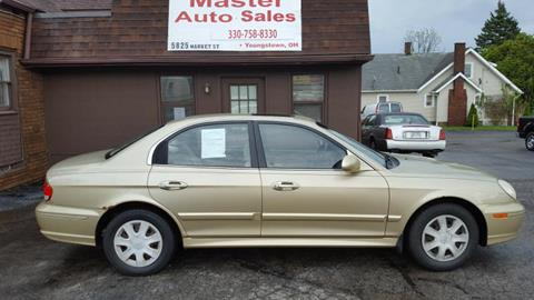 2002 Hyundai Sonata for sale in Youngstown, OH