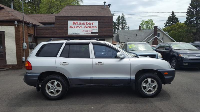 2002 Hyundai Santa Fe For Sale At Master Auto Sales In Youngstown OH