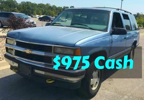1995 Chevrolet Tahoe for sale in Columbus, IN