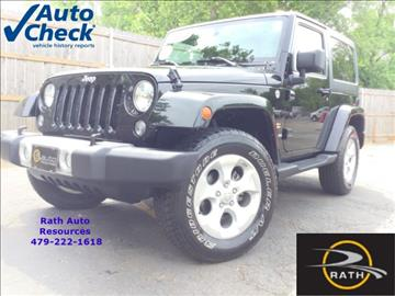 2015 Jeep Wrangler for sale in Fort Smith, AR