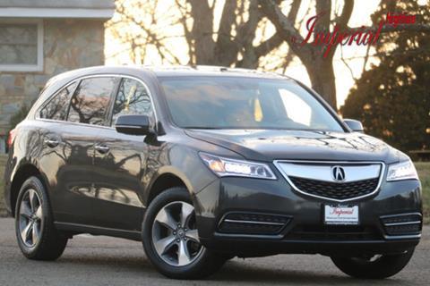 2016 Acura MDX for sale in Manassas, VA
