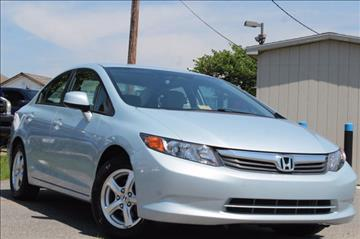 2012 Honda Civic for sale in Manassas, VA