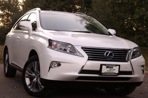 2015 Lexus RX 450h for sale in Manassas, VA