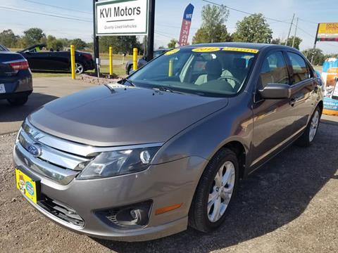 2012 Ford Fusion for sale in Davison, MI