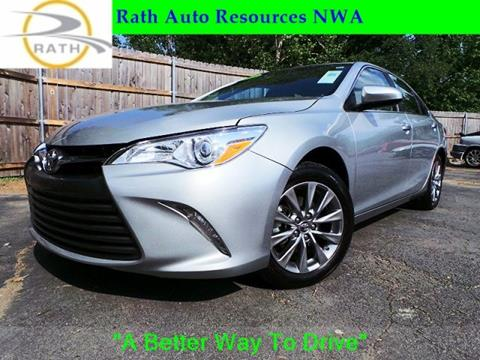 2016 Toyota Camry for sale in Springdale, AR