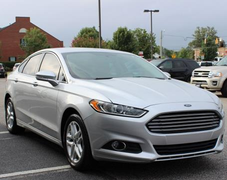 2014 Ford Fusion for sale in Evans GA