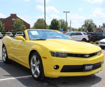 2015 Chevrolet Camaro for sale in Evans, GA