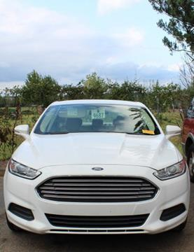 2015 Ford Fusion for sale in Evans, GA