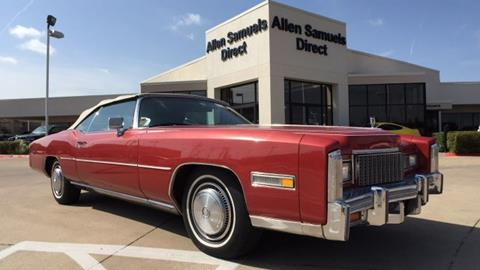 1976 Cadillac Eldorado for sale in Euless, TX