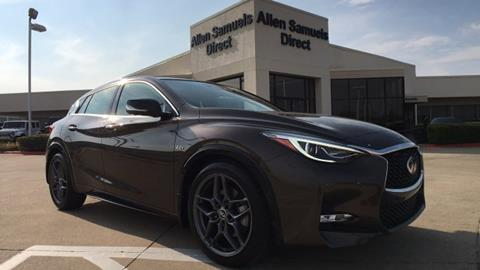 2017 Infiniti QX30 for sale in Euless, TX