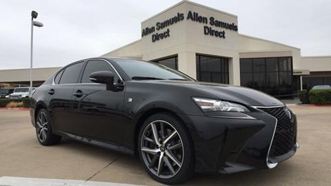 2016 Lexus GS 350 for sale in Euless, TX