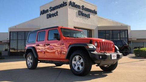 2018 Jeep Wrangler Unlimited for sale in Euless, TX