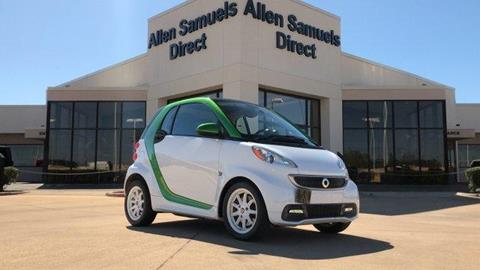 2015 Smart fortwo electric drive for sale in Euless, TX
