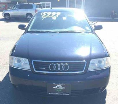 2001 Audi A6 for sale in Marysville, WA