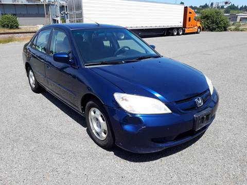2005 Honda Civic for sale in Tacoma, WA