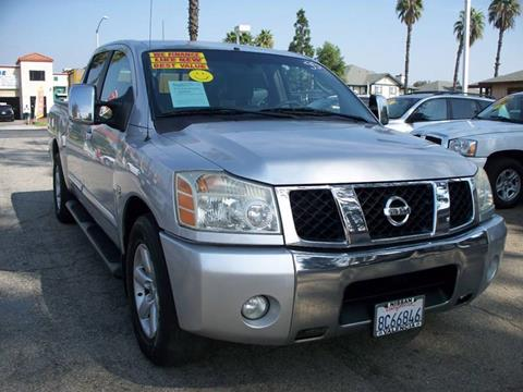 2004 Nissan Titan for sale in Ontario, CA