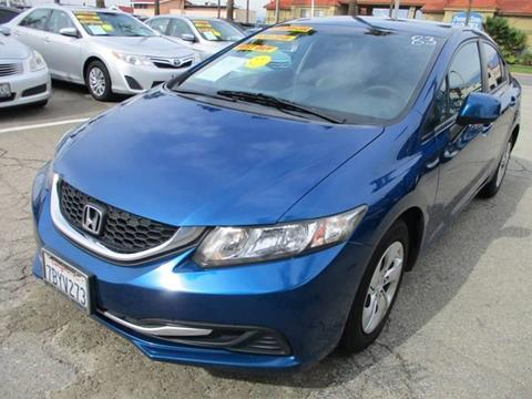 2013 Honda Civic for sale in Ontario, CA