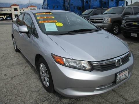 2012 Honda Civic for sale in Ontario, CA