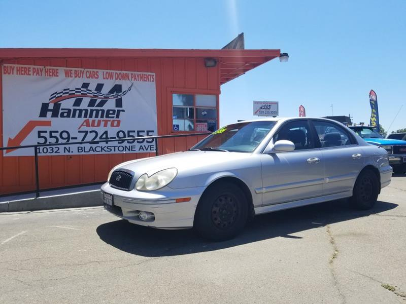 2003 Hyundai Sonata For Sale At Hammer Auto In Fresno CA