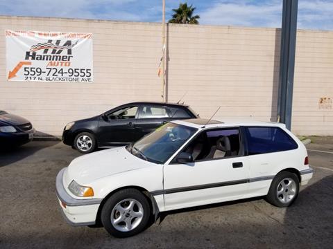 1989 Honda Civic for sale in Fresno, CA