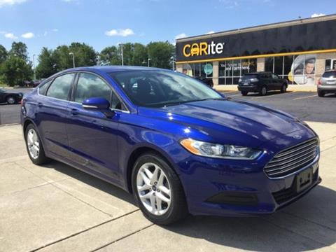 2016 Ford Fusion for sale in Chesterfield MI