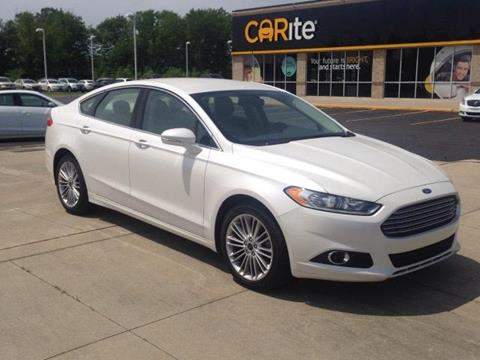 2015 Ford Fusion for sale in Chesterfield, MI