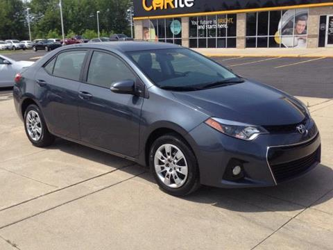 2015 Toyota Corolla for sale in Chesterfield, MI