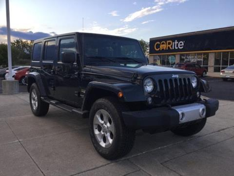 2014 Jeep Wrangler Unlimited for sale in Chesterfield, MI