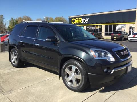 2012 GMC Acadia for sale in Chesterfield MI