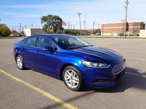 2016 Ford Fusion for sale in Madison Heights, MI