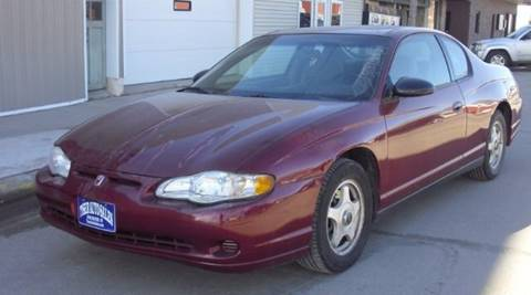 2005 Chevrolet Monte Carlo for sale in Dorchester, NE